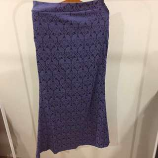 Aina Hariz Brocade Skirt