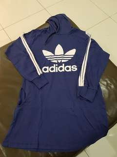 Adidas Sweater Dress Dark Blue