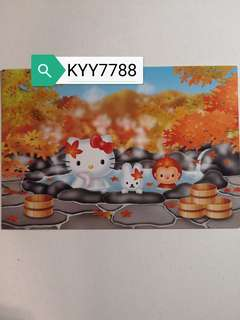 Hello Kitty明信片