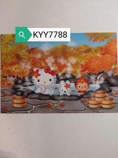 Hello Kitty明信片