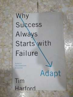 Why Success Always Starts With Failure by Tim Harford