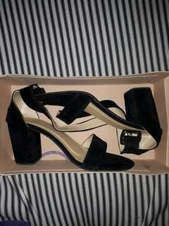 Suede Block Heels *Last Price already*
