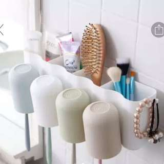Brand new!! Toothbrush holder cup rack