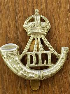 Genuine WW2 British Army Durham Light Infantry cap badge