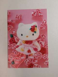 Hello Kitty 明信片