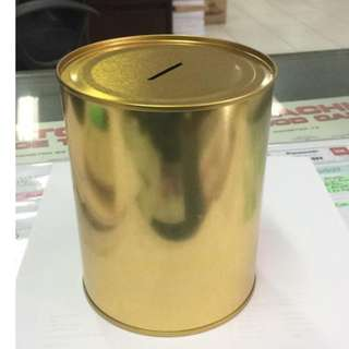 alkansya Gold Coated