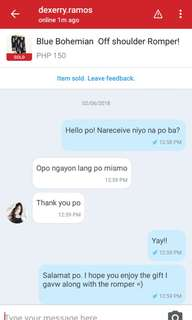 (PROOF OF TRANSACTION) Thank you po for trusting us!