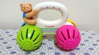日本正品Combi玩具推車*有鈴鐺聲