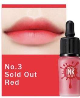 Peripera Airy Ink Velvet [No.#03 Sold out red]
