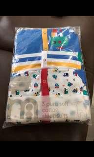 Brand New 0-3M Mothercare Sleepsuit