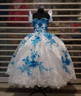 Ball gown / Filipiniana gown
