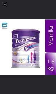 [Instock] Abbott Pediasure Vanilla Flavour 1.6kg