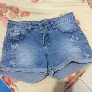 Hotpants Blue Wash