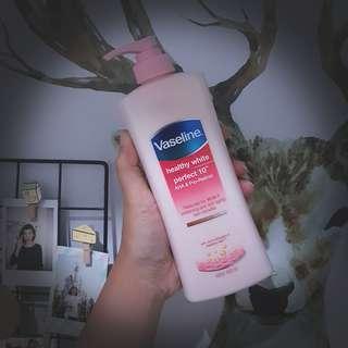 Vaseline healthy white perfect 10 400ml