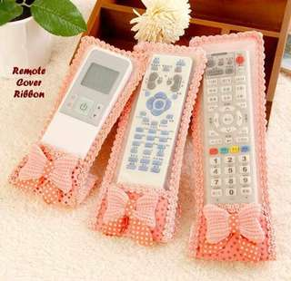 Set Remote Cover Motif Ribbon
