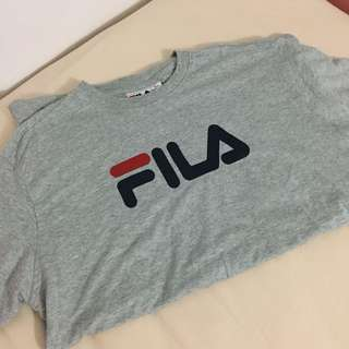 AUTHENTIC FILA TSHIRT IN GREY