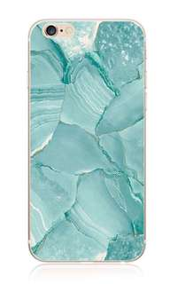 iphone 6/6s blue marble case