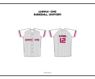 Wanna One Baseball Uniform
