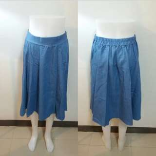 Soft maong skirt