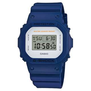 CASIO G-SHOCK DW-5600 series DW-5600M-2 藍色 GSHOCK DW5600M