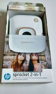 BRAND NEW INSTANT PRINT Sprocket 2in1 (CHEAPER THAN RETAIL STORE)