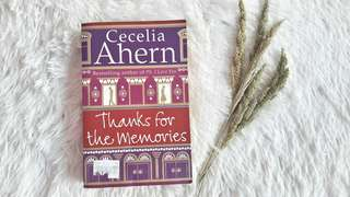 Thanks For the Memories Cecilia Ahern