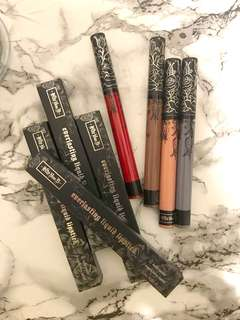Sephora Bundle liquid lipstick
