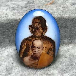 PT Nian of Wat Tong Liab BE2538 Locket PT Nian with LP Thuad