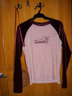 Disney Tinkerbelle Long sleeves