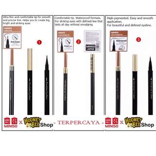 Japan Quality - Waterproof Precision Droplet Eyeliner Miniso Import