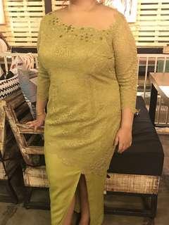 Kebaya modern , dress swarovski