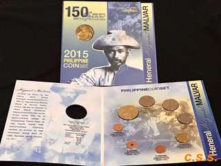 Miguel Malvar 150years Commemorative Coin Set