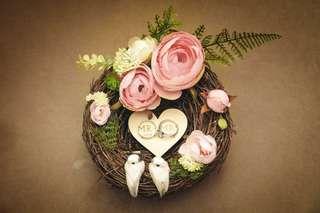 Wedding Ring Holder - Bird Nest