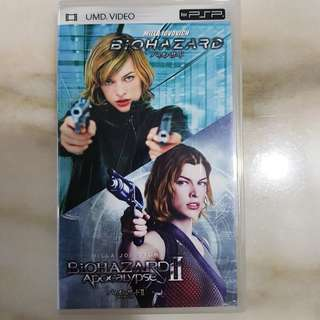 UMD VIDEO PSP DELUXE COLLECTION - Resident Evil I & II