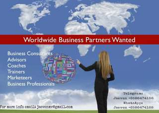 Looking for visionary business partners!