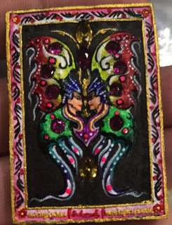 Thai Amulet Butterfly Thep Sampok