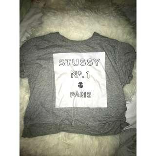 STUSSY GREY TOP (RP.$49.99)