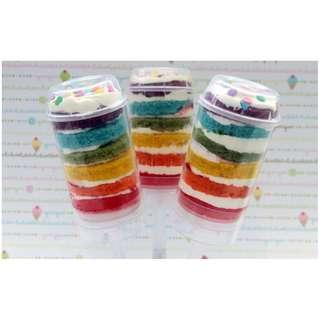 [Ready Stock] Dessert Table Push Up Cake Pop Container 6pcs / 10pcs