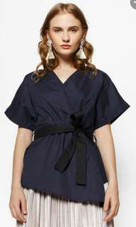 Navy Charlize by CottonInk