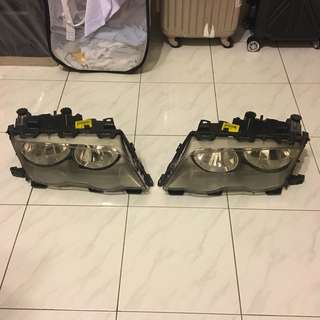 BMW E46 headlamp ori