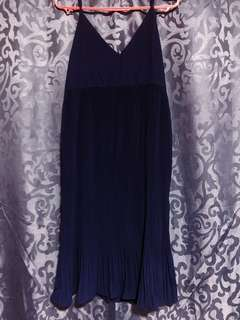 Navy Blue Oversized Dress