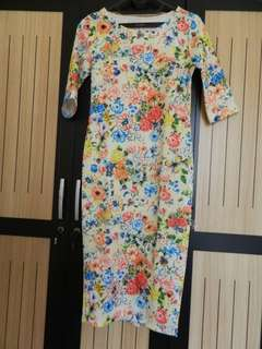 New Dress bodyfit Size M