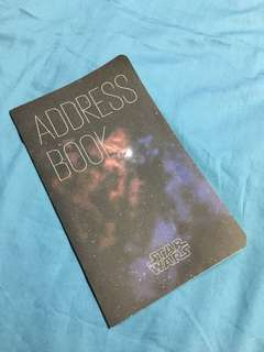 2013 Star Wars x Moleskine Address Book