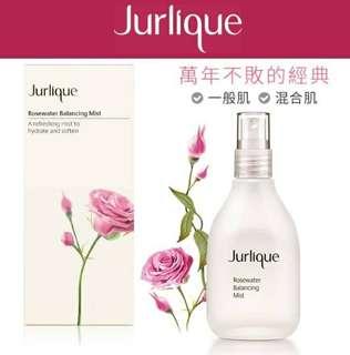 Jurlique茱莉蔻-最暢銷的明星商品 玫瑰活膚露 100ml-限時特惠