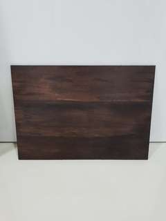 A2 Stained Wood