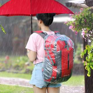 Disposable raincoat for backpacks S M L