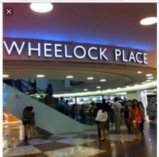 Wheelock Shop Space for rent