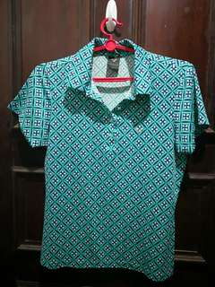 Golf polo shirt for women
