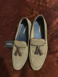 Suede Loafers Top Man