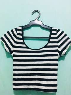REPRICED Forever 21 crop top (crisscross back)